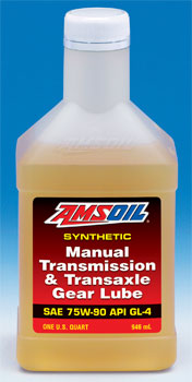 Synthetic Manual Transmission and Transaxle Gear Lube